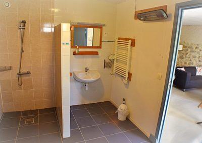 Gîte de luxe Bouble la salle d'eau