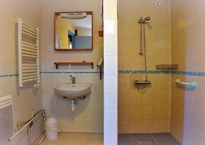 Gîte Bouron de badkamer