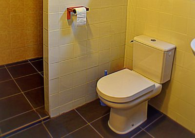 Gîte Tartasse de badkamer